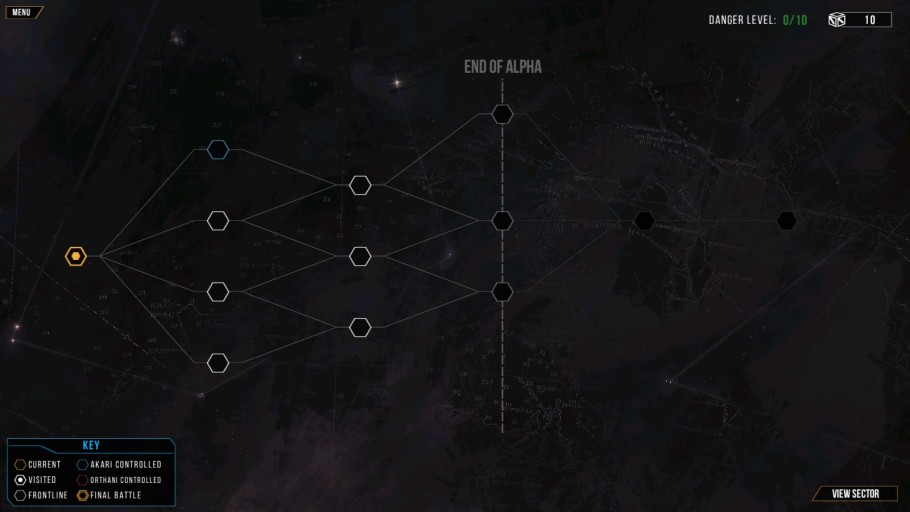 Distant Star: Revenant Fleet Galaxy Map