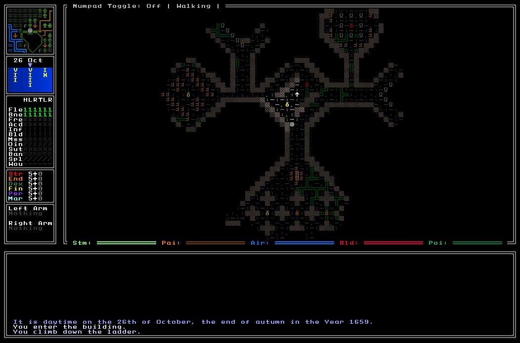 Temperate Crypt
