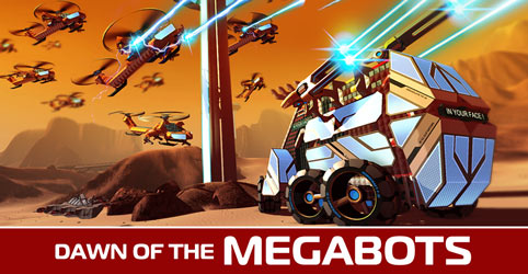 Dawn Of The Megabots News Robocraft Indie Db
