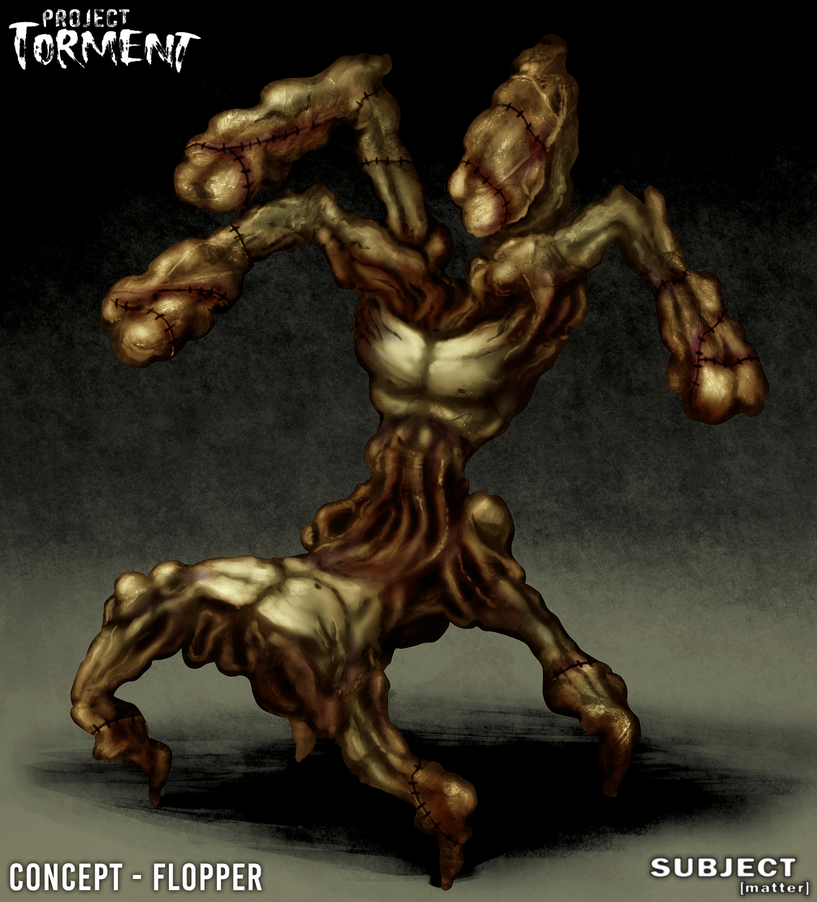 Project Torment Enemy Concept - Flopper