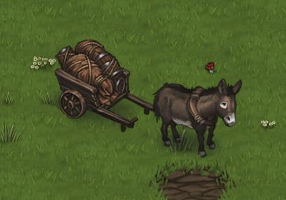 Caravan Tactical Combat Donkey Battle Brothers