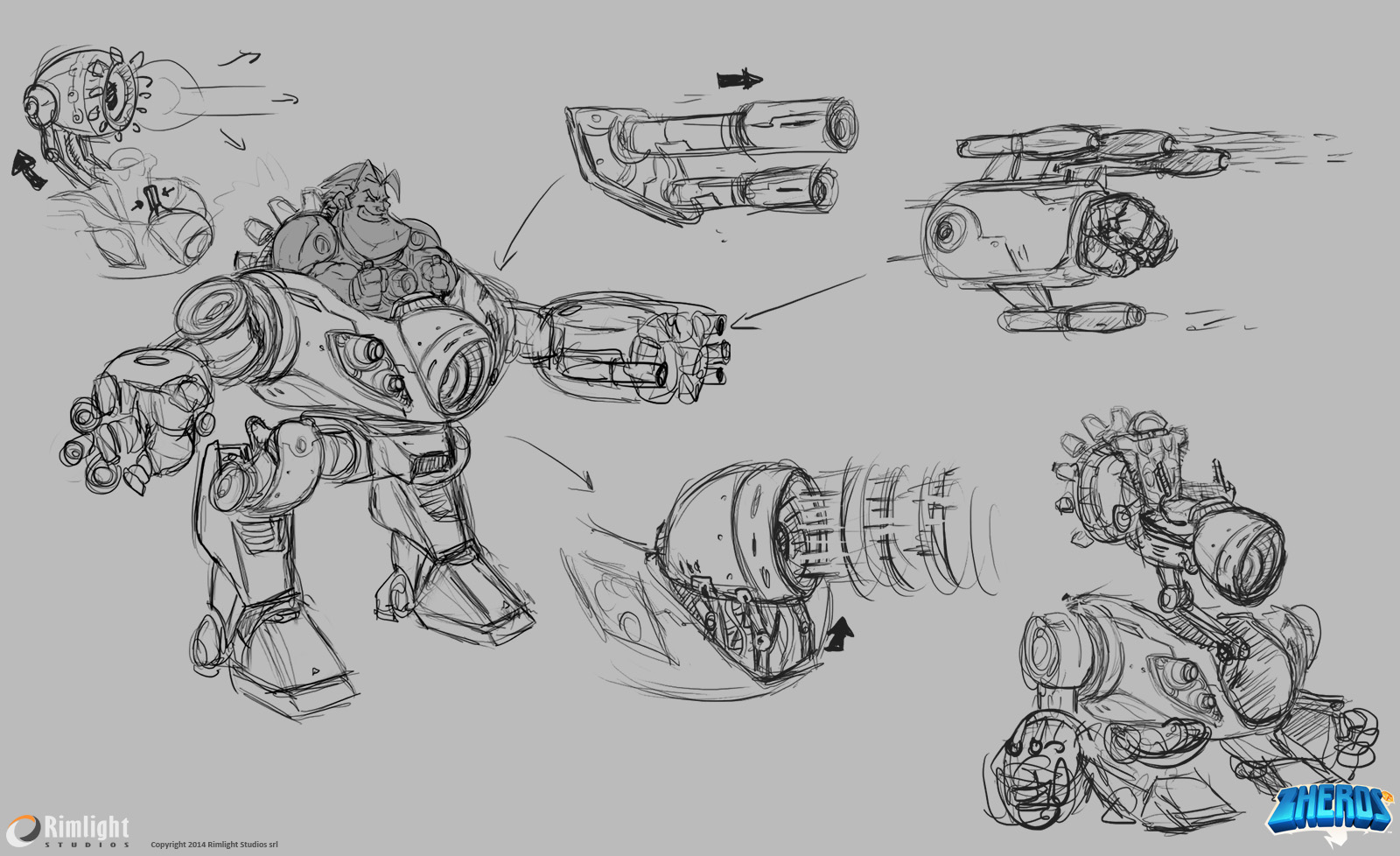Weapons And Mechanical Parts