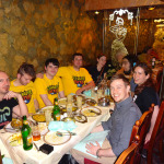 Eating out with Google, Rami from Vlambeer and Mushroom 11