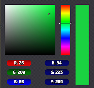 New Color Picker