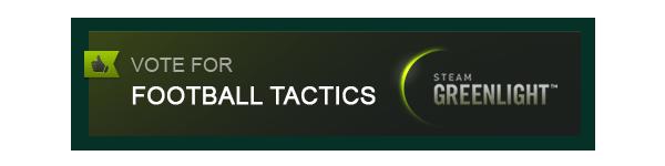 Football Tactics is on Steam Greenlight!