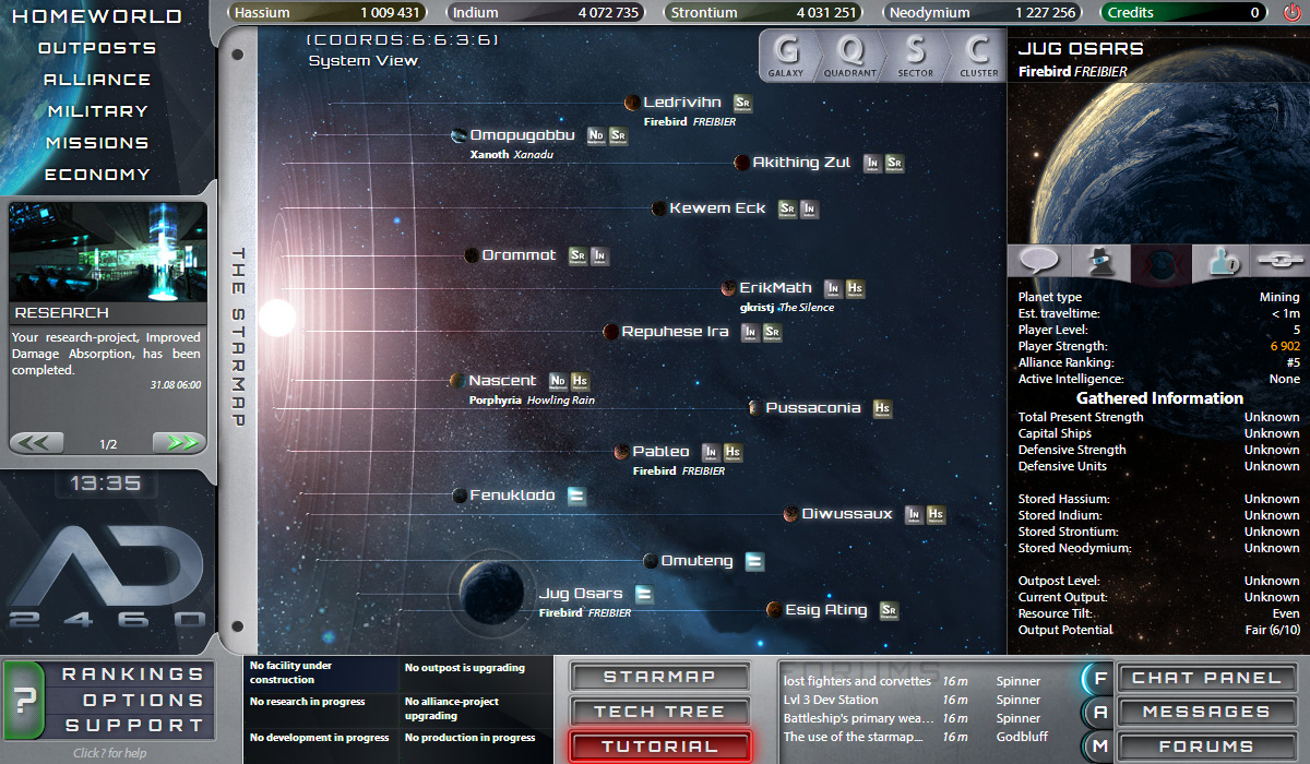 AD2460 - Solar System View