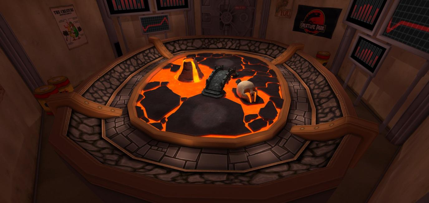 lighting the Magma arena 001