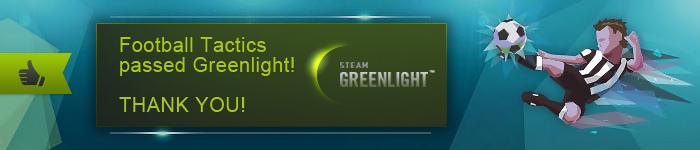 Football Tactics has been Greenlit!
