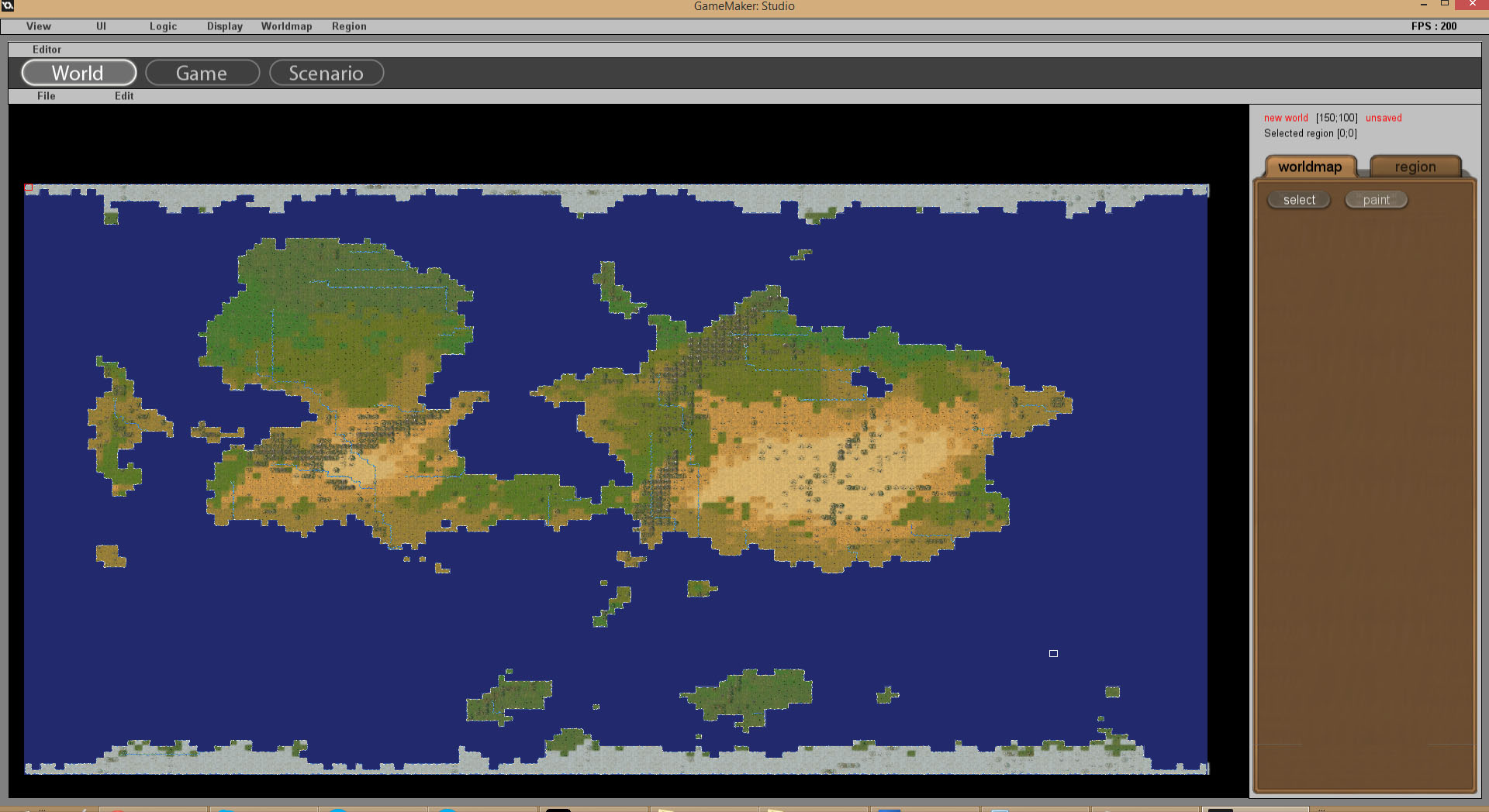 Ymir now on greenlight news mod db worldmaps can now also be procedurally generated with different settings as input temperature sea level continents etc gumiabroncs Images