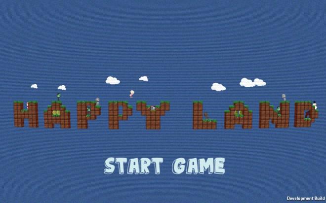 HappyLandStartScreen