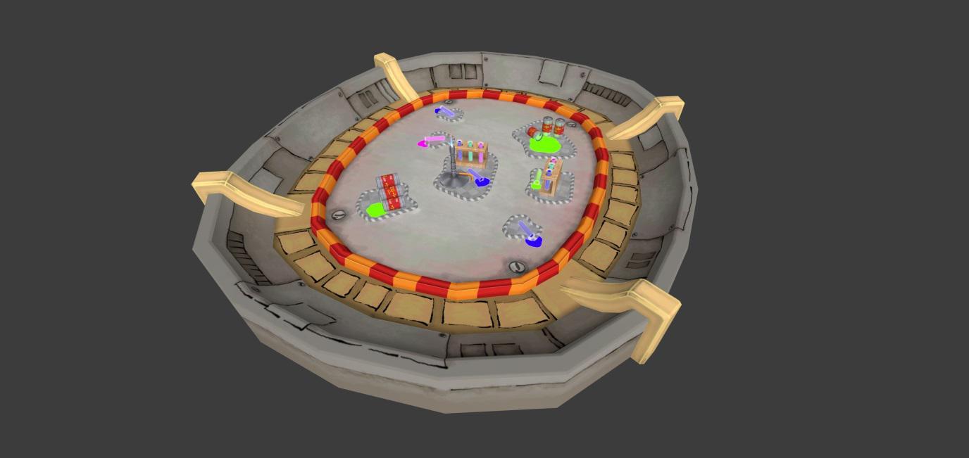 Creature Battle Lab Arena 001