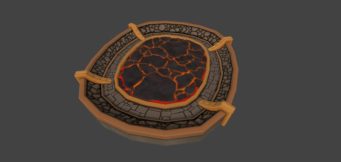 Creature Battle Lab Magma Arena 001