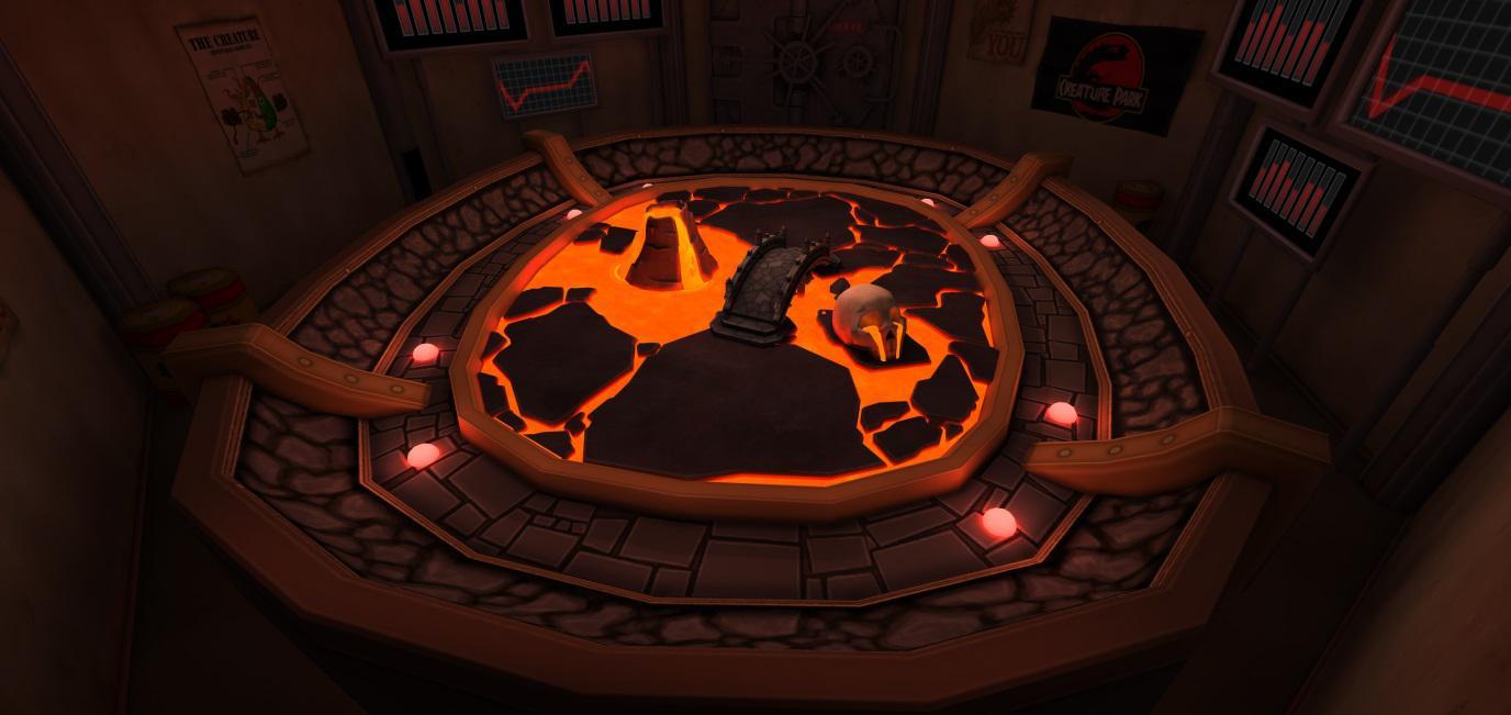 Creature Battle Lab Magma Arena 002