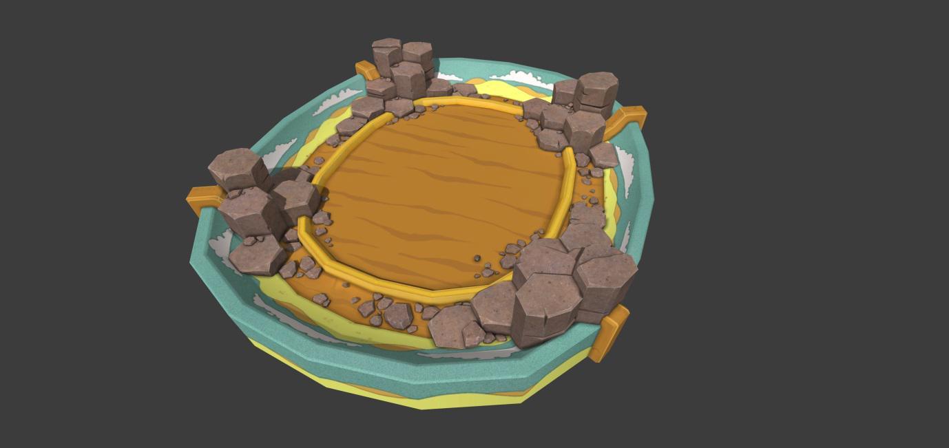 Creature Battle Lab Rock Arena 001