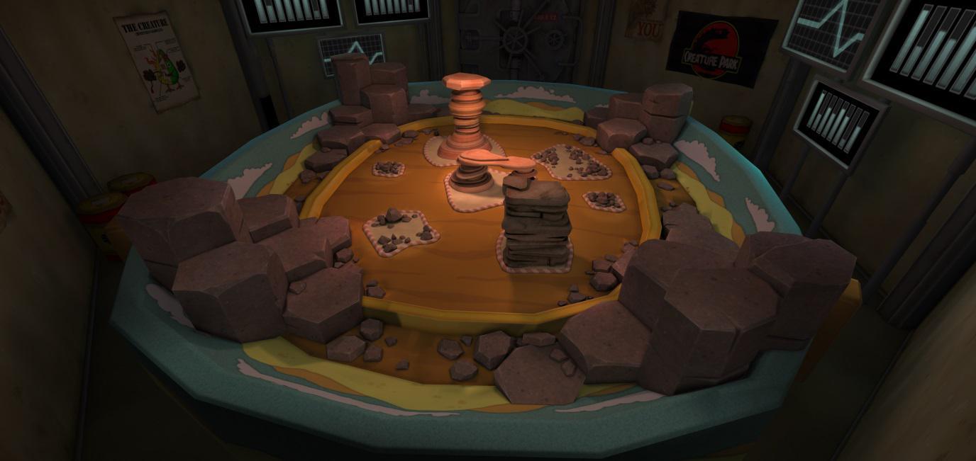 Creature Battle Lab Rock Arena 002