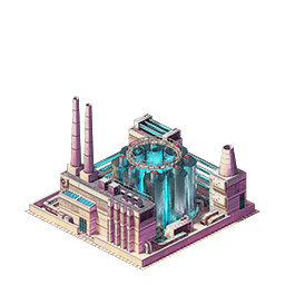 My personal favourite- the Fusion Power plant. Probably because it most resembles a building from Command & Conquer/Red Alert!