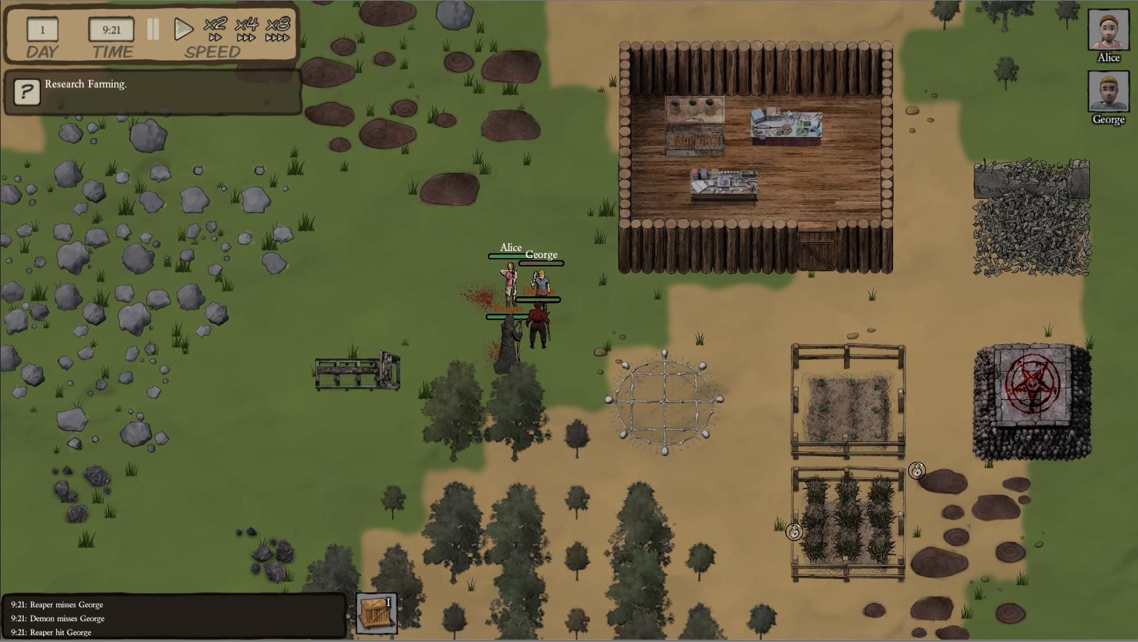 Survival Simulation Game Team Building