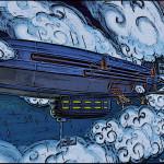 Karaski Game Zepellin Airship