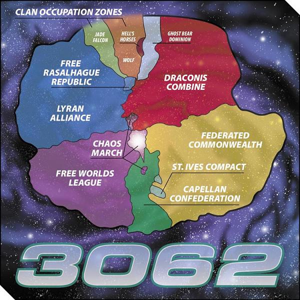 Map of the Inner Sphere in 3062