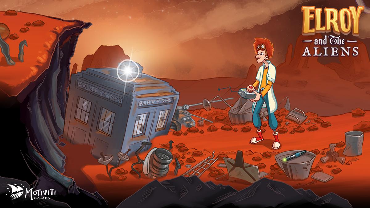 Elroy on Mars