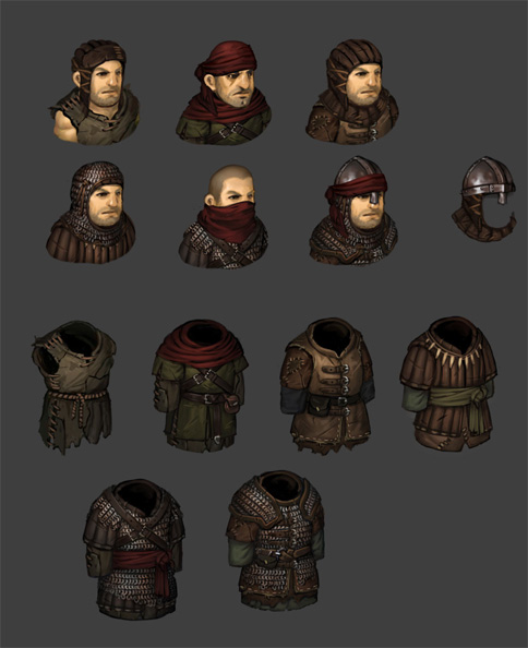 Progress Update: Worn Armors and Goblin Preview news
