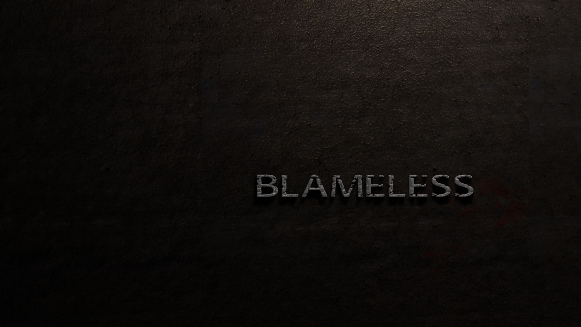 Blameless Menu Background