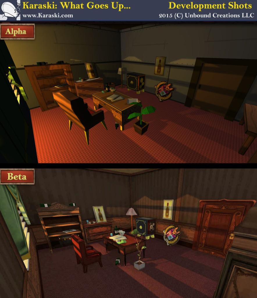 Karaski Indie Game Progress Shot Office