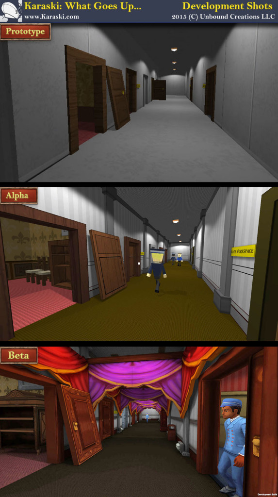 Karaski Progress Shot Corridors