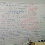 Karaski Game Design whiteboard