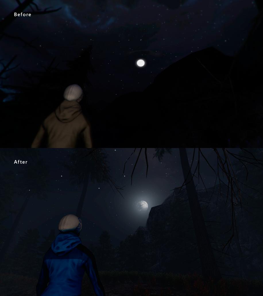 Moon-Comparison