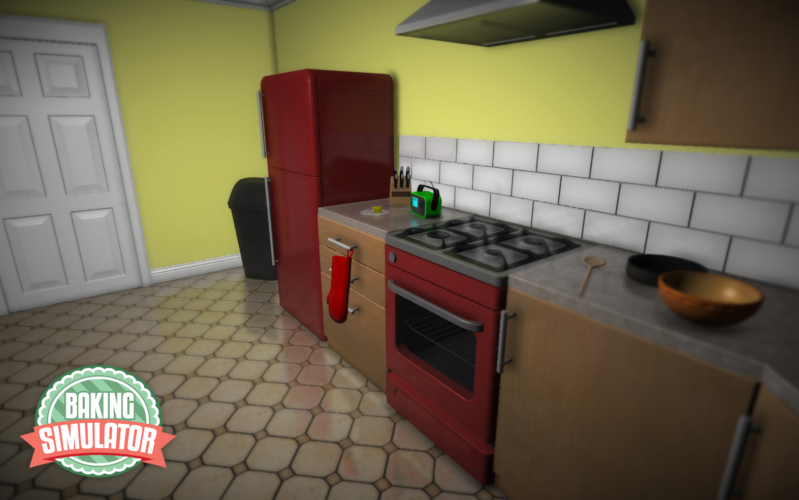 The classic kitchen.