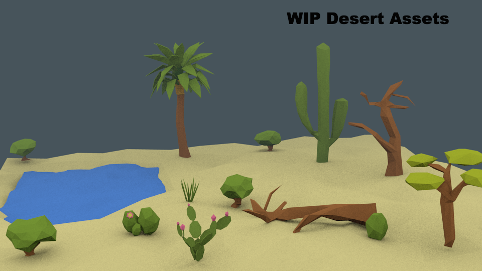 WIP of future desert level