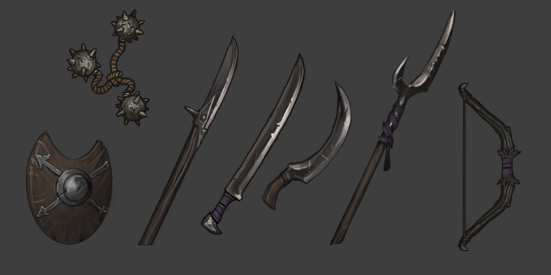 goblin-weapons