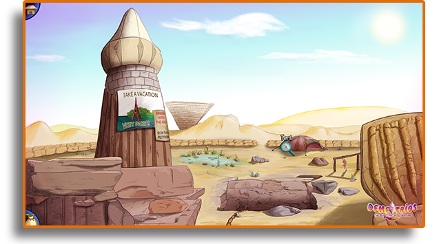 Demetrios excavations