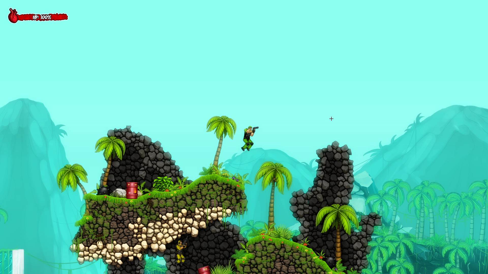 Muscles And Bullets - screenshot 2