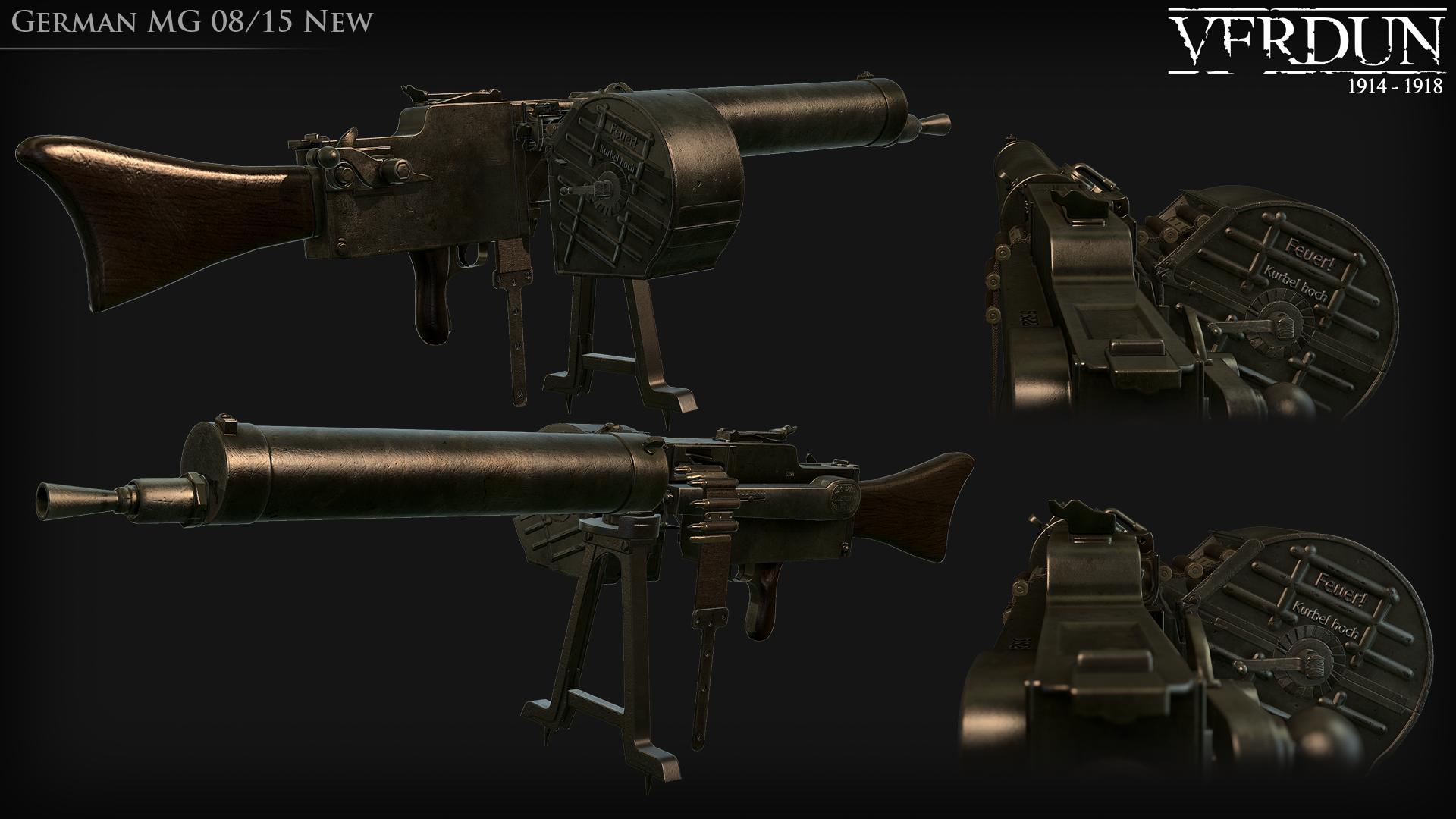 Verdun MG08/15 updated