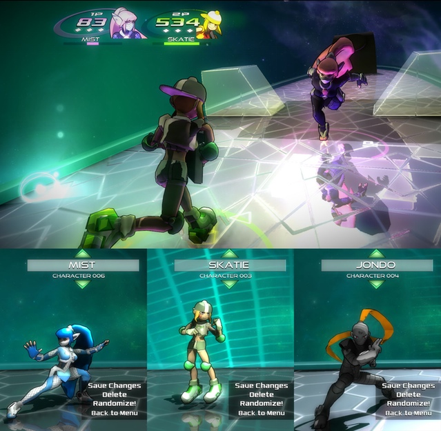 Lighting changes on Stage 4 and some of the new alternate colors!