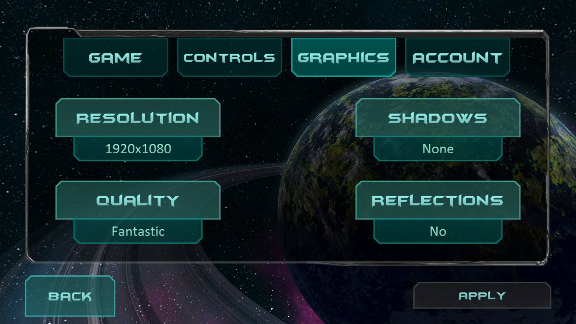 Fractal Space New Options Available