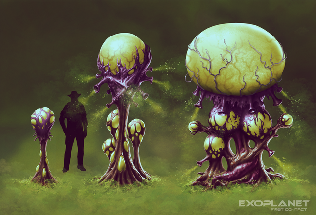 Exploding mushrooms: young ones can be used as food or medicine, the ripe ones will make deadly explosive traps.