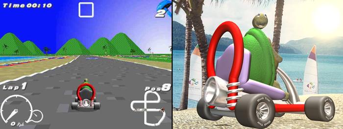 Billabong Racers - 2001 freeware