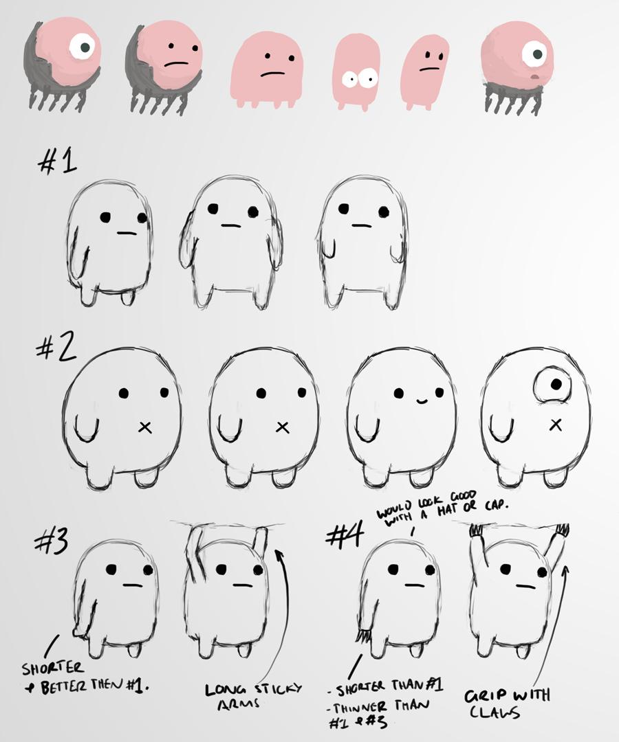 Character concept sheet