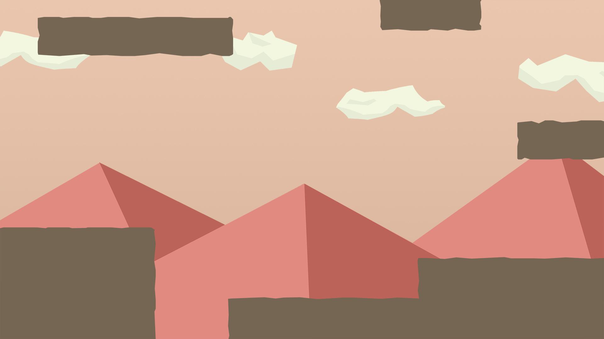 Mountains environment concept
