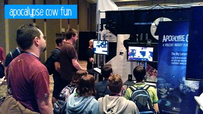 Apocalypse Cow at PAX!