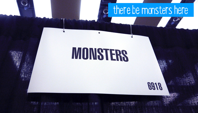 The Monsters booth space