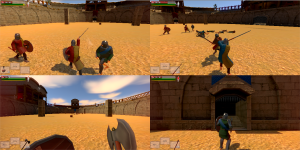 4-player Arena Battle
