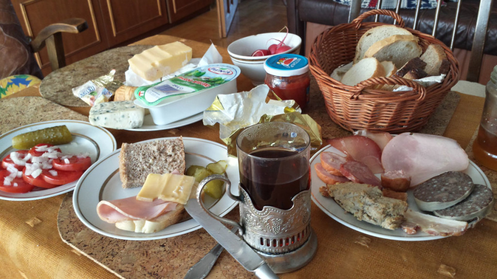 Poland 2015 Typical Breakfast
