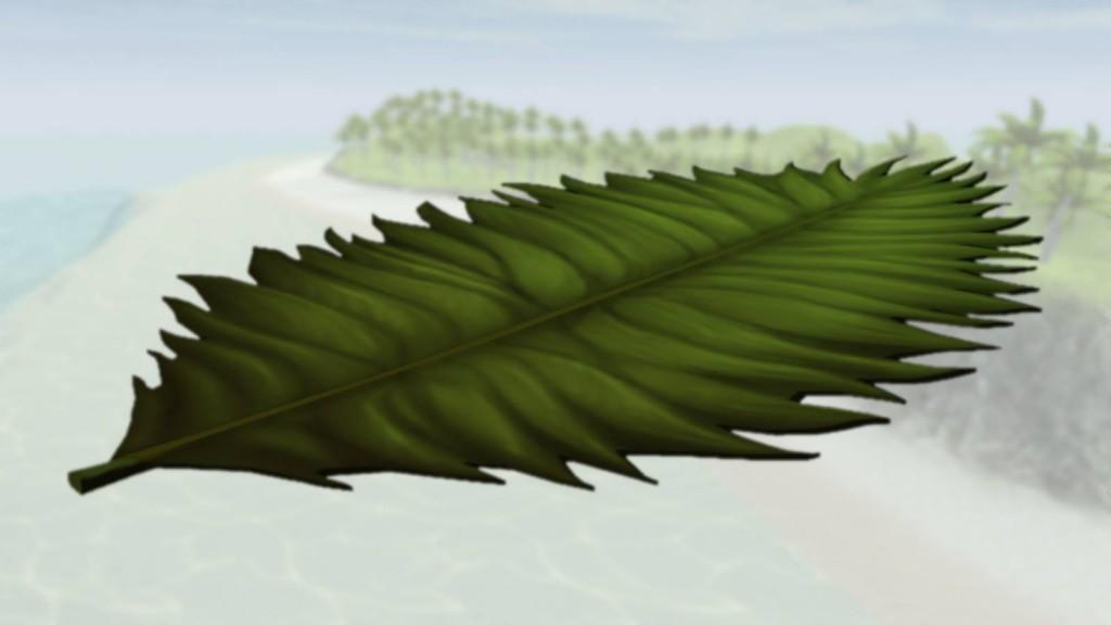 Screenshot of our new leaf