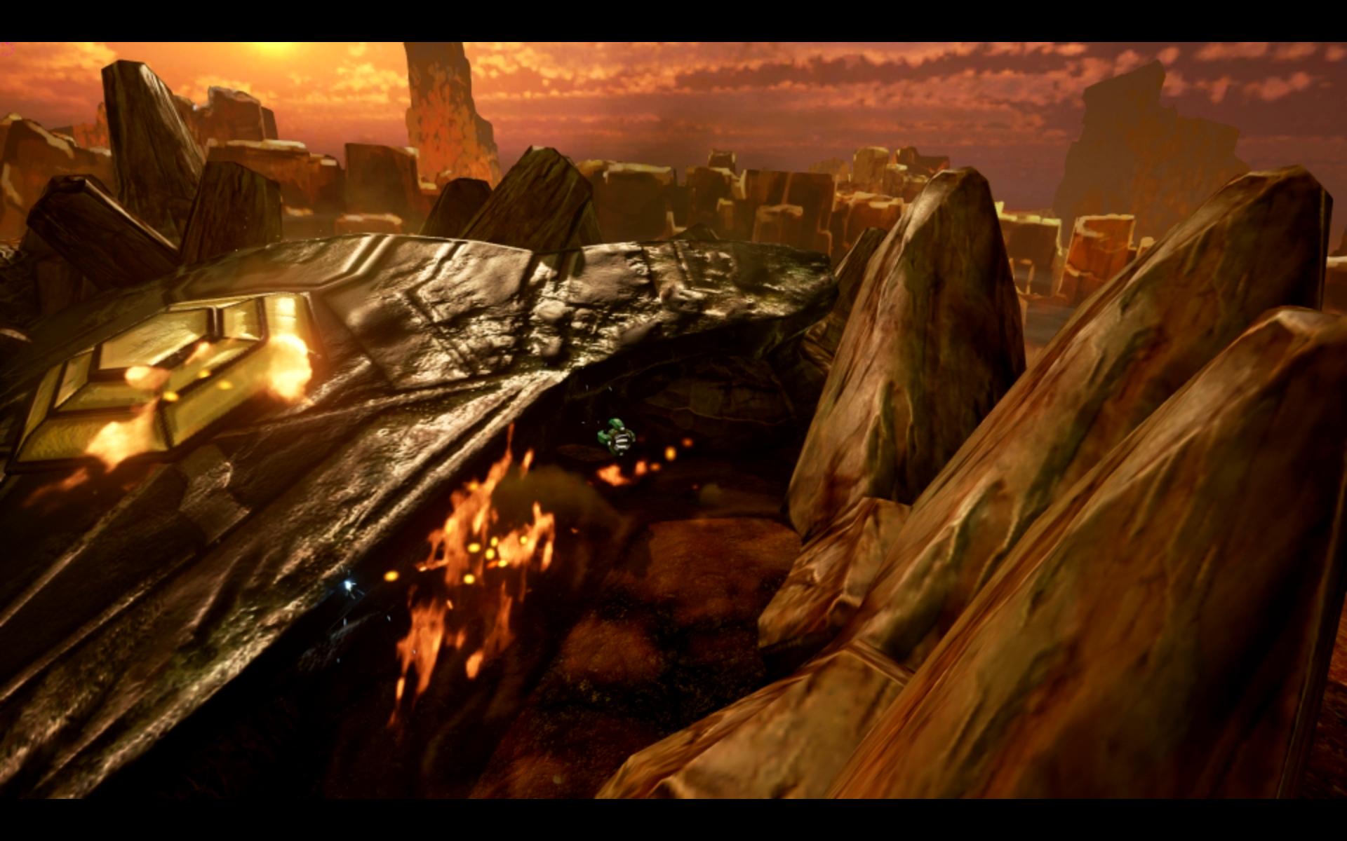 Desert Screenshot The Center Spaceship