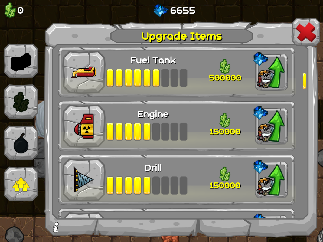 upgrade shop games
