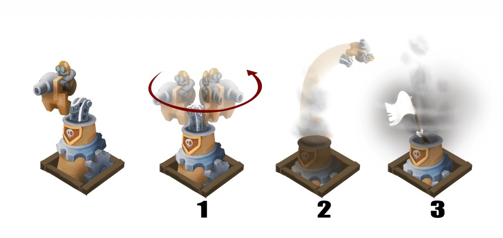 Tower animation